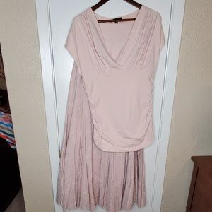 Dusty Rose Fitted Top